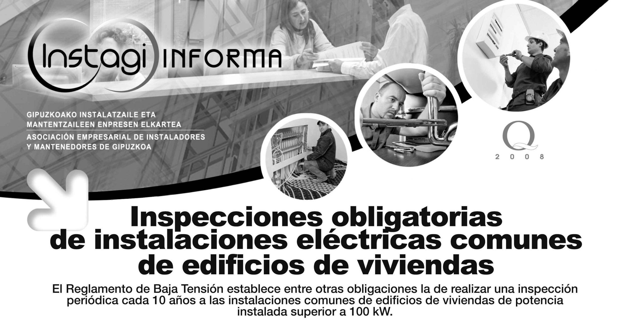 Inspecciones Obligatorias de Instalaciones Eléctricas Comunes