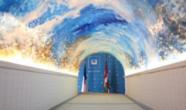 'MiramArt', un paseo subacuático por el túnel del Antiguo